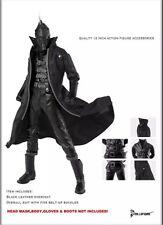 """Black leather pants suit 1/6 12"""" Action Figure Toys hot clothes set"""