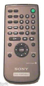 SONY RMT D182A REMOTE CONTROL = portable DVD player DVP