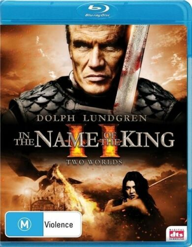 1 of 1 - In The Name Of The King II - Two Worlds (Blu-ray) Dolph Lundgren NEW/SEALED