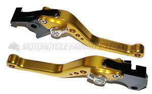 Suzuki-GSXR-1000-2001-2002-2003-2004-Adjustable-Shorty-Brake-Clutch-Lever-Parts