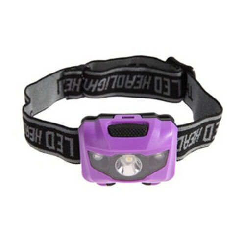 E14A Red Light Head Torch Lamp Headlamp 4modes Fishing Portable Headlight 3W