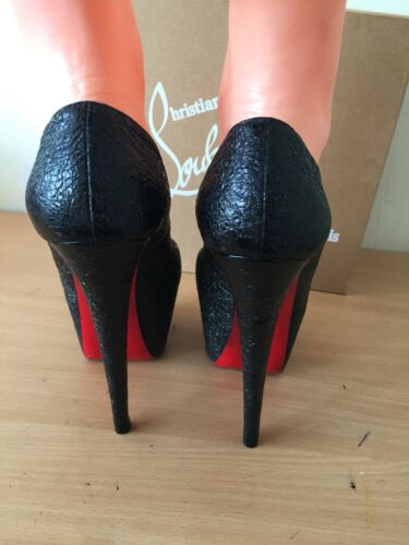 Christian Black Highness 5 4 5 Louboutin Fab 160 Uk 37 nxHTwUn