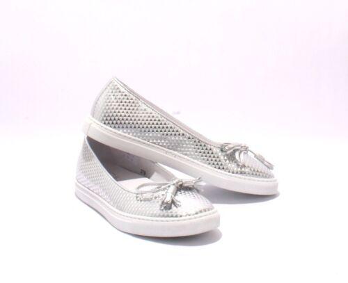 instapper zilver lederen Bellini 5007 Diego 8 schoenen Loafer 38Us reodCWxB