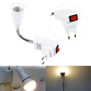 E27-LED-Light-Flexible-Extension-Adapter-Bulb-Lamp-Holder-Converter-Screw-Socket