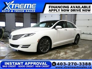 2016 LINCOLN MKZ AWD *INSTANT APPROVAL* $129/BW!