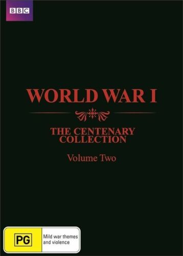 1 of 1 - The WWI - Centenary Collection : Vol 2 (DVD, 2015, 3-Disc Set) (D167)