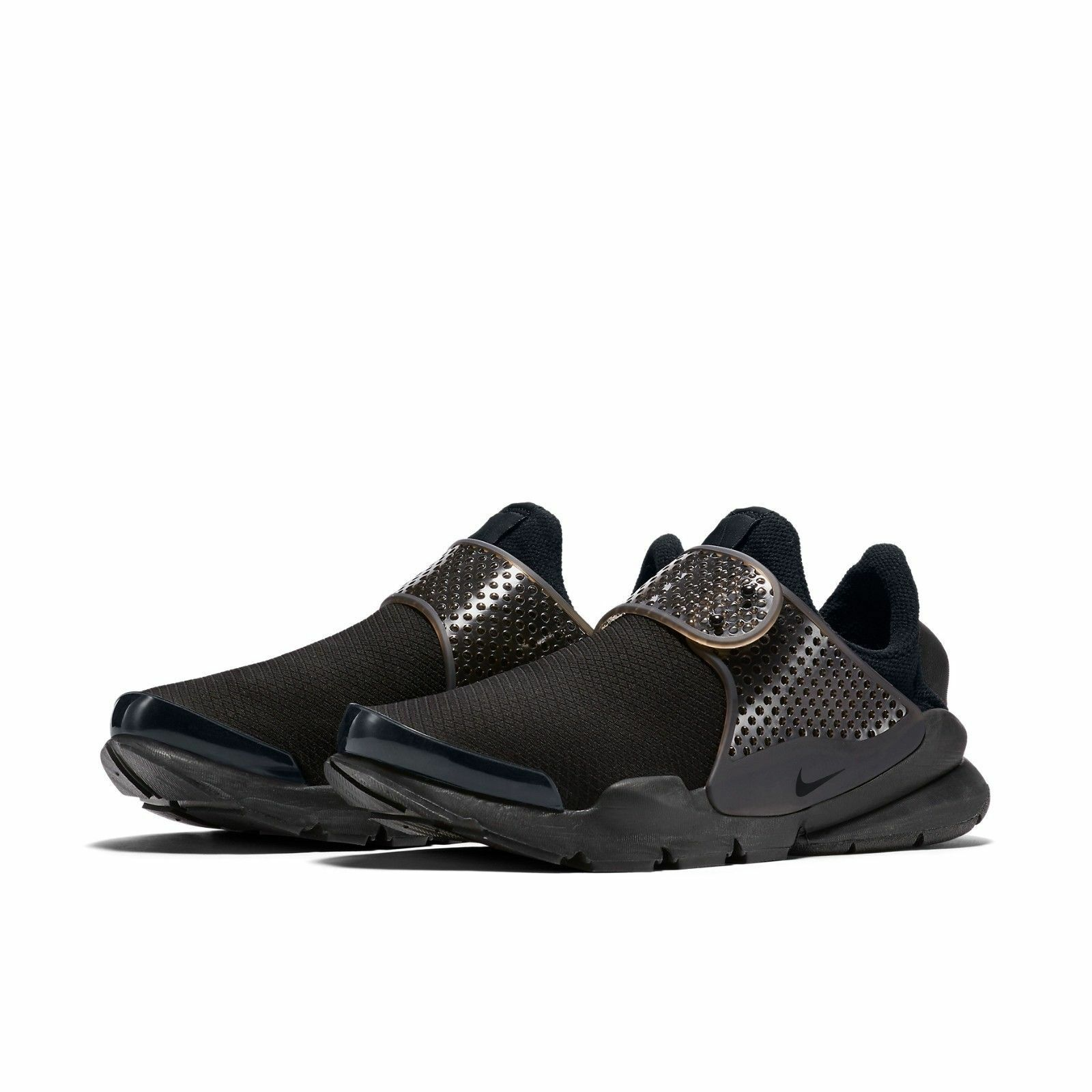 Nike WOMEN'S Sock Dart Black/Volt SIZE 6 BRAND NEW All Day Comfort
