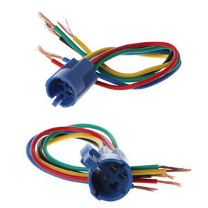 Details about 5 Pin Wire Connector Wiring Socket Plug Adapter For 16/19mm  Push Button Switch