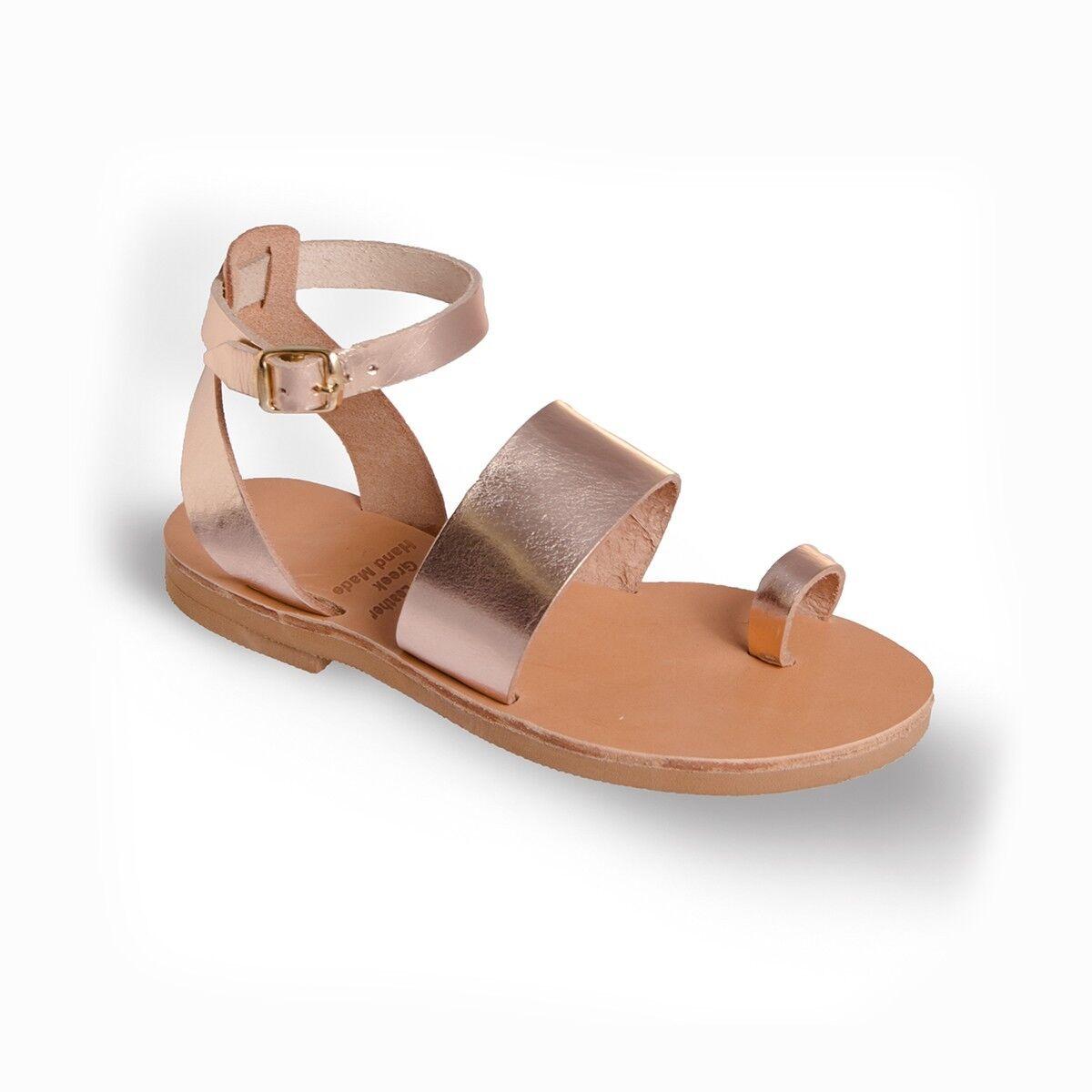 Ancient Greek Damenschuhe Damenschuhe Damenschuhe Sandales Gladiator Roman Handmade Genuine Leder Schuhes Flat 30fbfa