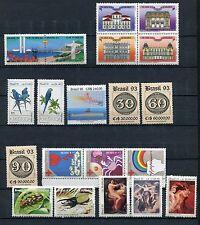 BRAZIL 1993 MNH Lot 19 Stamps
