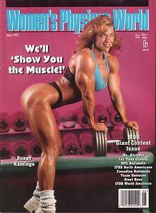 Ebony muscle lesbian