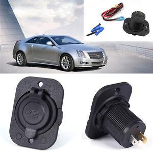 Dual-USB-Coche-Encendedor-de-Cigarrillos-Divisor-12V-Cargador-Adaptador-de-corriente-outleds