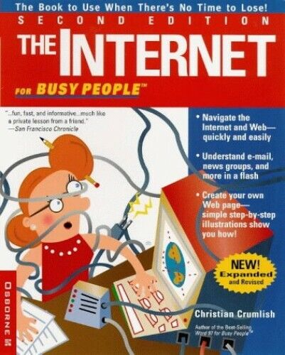The Internet for Busy People by Crumlish, Christian Paperback Book The Fast Free