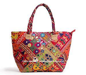 Image Is Loading Women Tribal Banjara Vintage Ethnic Handmade Boho Bags