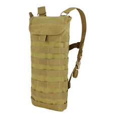 NEW CONDOR HCB Tactical MOLLE PALS Hydration Carrier w/ 2.5L H2O Bladder TAN