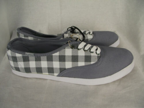 BNWT Teenage Boys Mens Sz 8 Rivers Doghouse Grey Checks Casual Jogger Shoes