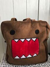 Japanese Super Adorable Brown Cute Domo Kun Shape Soft Large Shopping Tote Bag