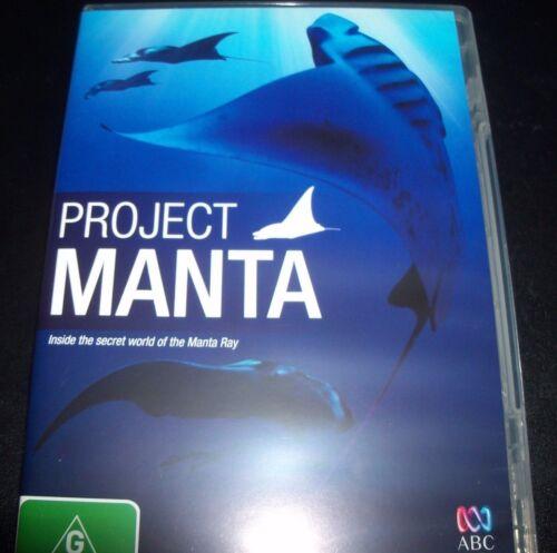 1 of 1 - Project Manta ABC DVD (Australia Region 4) DVD – Like New