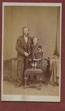 Peterboro. William Ball. Father child chair   CDV photograph  zk.119
