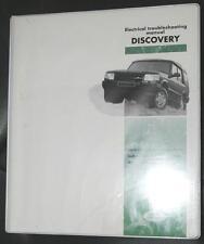 Land Rover Discovery Handbuch zur Störungssuche - elektrische Anlage LJBEMGRL95