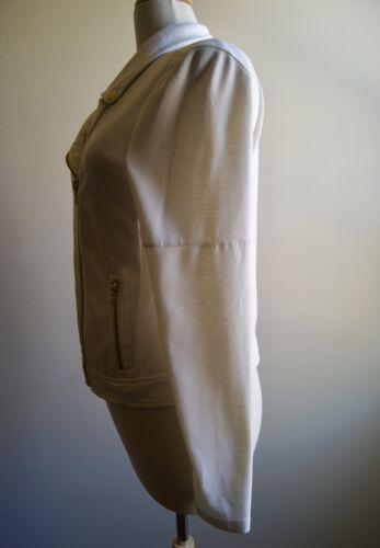 Hvid Nation Som Zipper Kvinder Moto M For Design Dressy Størrelse Zip Peter Jakke qXtBa