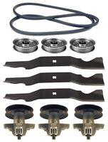 Yard-man 50 Rzt-50 Mower Deck Parts Kit Spindles Blades Belt Free Shipping