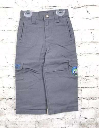 Disney Store Toy Story Buzz Lightyear Sector Protector Gray Pants Size 2 2T
