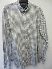"""Paul Smith Grey Check Shirt Tailored Fit Size M Pit to Pit 21.5"""""""