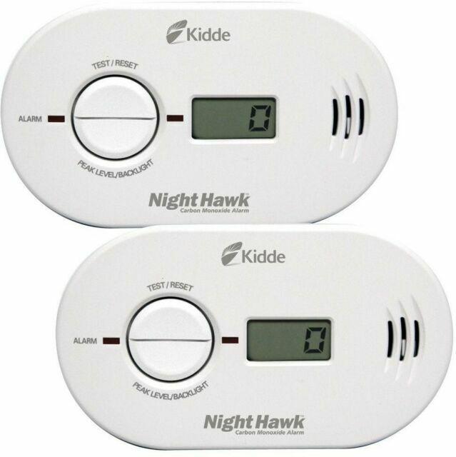 Kidde Carbon Monoxide Alarm 2 Pack New - KN-COPP-B-LS