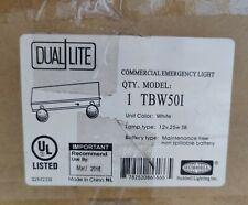 Dual Lite Commercial Emergency Light Tbw501 Qty 1