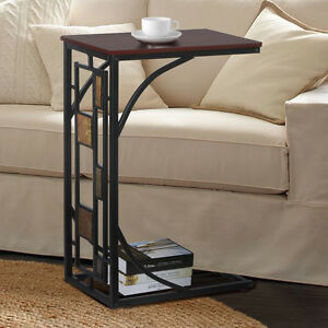 Modern Design Mobile Trolley Coffee Tea Table Sofa Side End Table