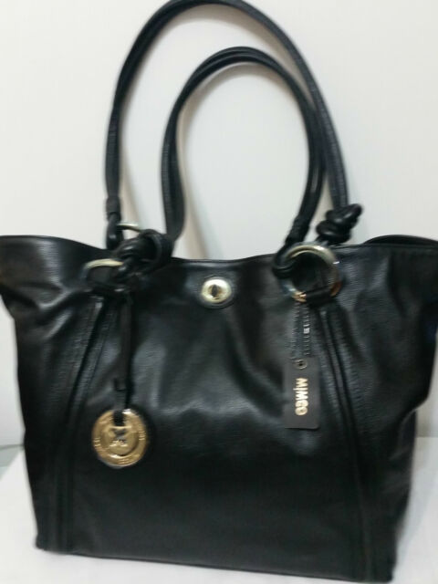 Mimco Leather LARGE SUPERNATURAL TOTE Hand Bag BNWT RRP $499 BLACK