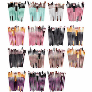 15tlg-Professionelle-Make-up-Pinsel-Set-Kosmetik-Pinsel-Schminkpinsel-Brush-Set