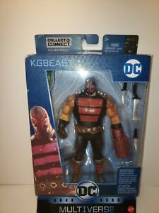 DC Multiverse Killer Croc C/&C Batman Rebirth Series KGBEAST Figure