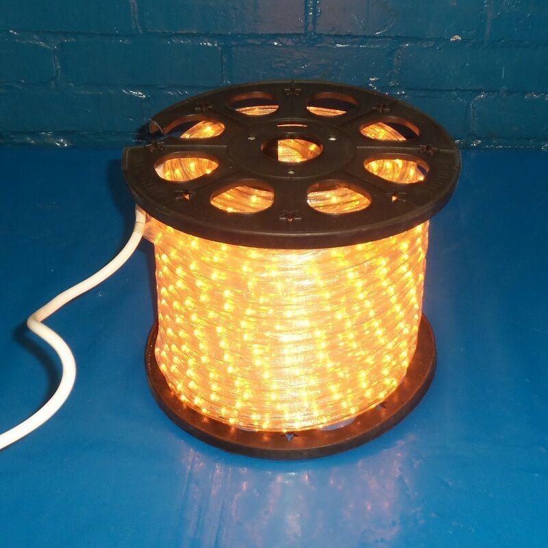 Amplia leal 120v 60hz 3.75 un flexilight LED luz de la cuerda if2c  Plástico
