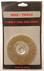 8 Wire Wheel 1 2 Arbor For Bench Grinder