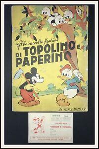Album-LAMPO-TOPOLINO-PAPERINO-Cartolina-concorso-premi-1952-DISNEYANA-IT