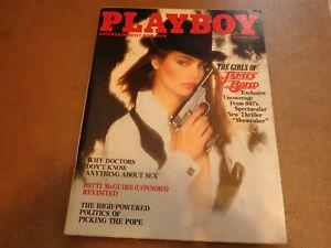 1979 Be A JAMES BOND Girl Playboy Magazine /& United Artists Contest VINTAGE AD
