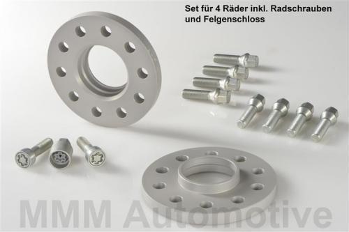 H /& r Abe Elargisseur de voie 24//30 mm set BMW 3er e36 plaques