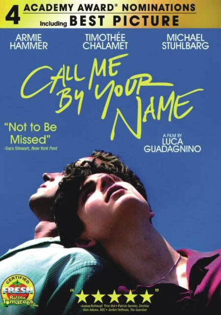 Call Me by Your Name (2018), DVD