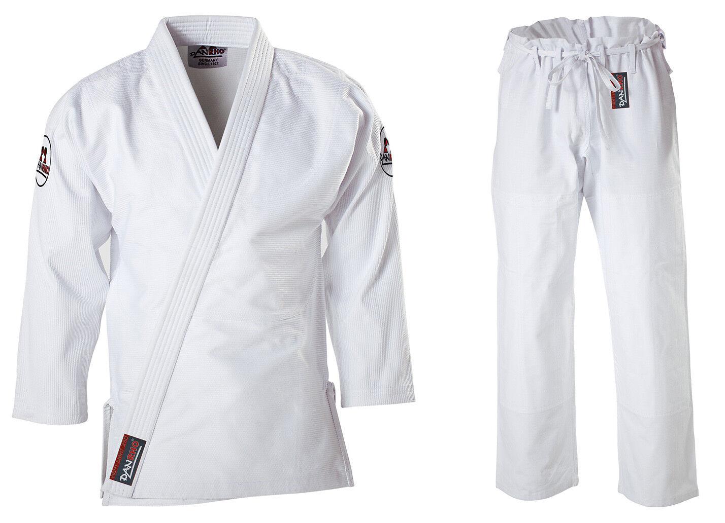 DANRHO Ju Jutsu Anzug Fight light 350 Gr. Gr. Gr. 160-200 Judo 100% Baumwolle 350 gr 481061
