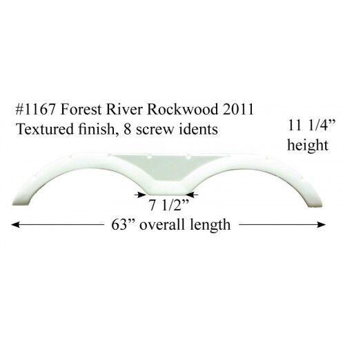 Forest River RV Fender Skirt Fiberglass #1167 Taupe *see Discription*