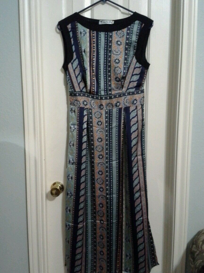 Maxi bluee dress NWT  S