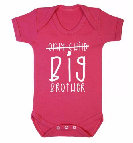 Figlio unico Fratello Maggiore Bambino CANOTTA BABY SHOWER sorella FRATELLI famiglia Hipster 3571