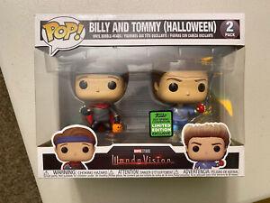 Funko Pop Marvel Studio WandaVision 2 Pack Billy & Tommy