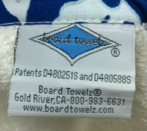 Board Towel Hawaiian Style Beach Pool Tote Bag Backpack 100/% Cotton NWT