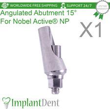 Titanium Angular Abutment 15 For Nobel Biocare Active Hex Np Dental