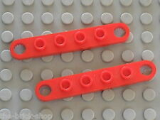 LEGO TECHNIC Red Plates with Holes 4262 / Set 8842 8844 8858 8854 8812 8808 8856