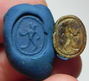 New Kingdom Faience Scarab Ancient Egypt as6746 1400 B.c Attractive And Durable Zurqieh