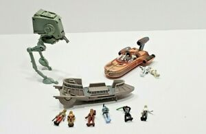 Vintage-Star-Wars-Toy-Micro-Machines-Jaba-Hutt-Barge-Playset-Galoob-Lot-Figures
